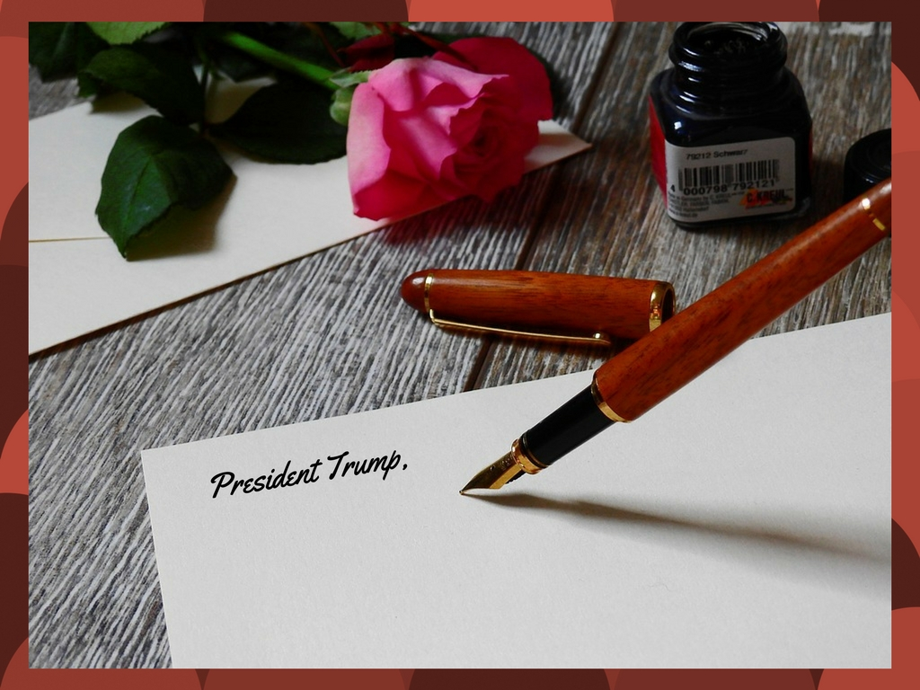 Let Me Just Say This: An Open Ended Letter To President Trump